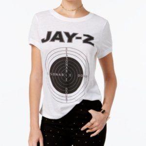 Merch Traffic Juniors' Jay-z Graphic T-Shirt